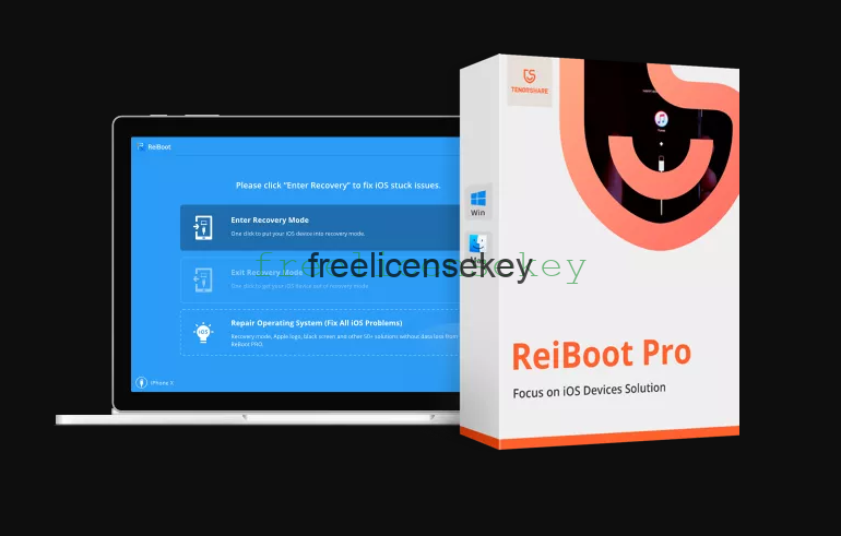 Tenorshare Reiboot Pro 7.6.1.0 Crack Full Version Registration Code 2021