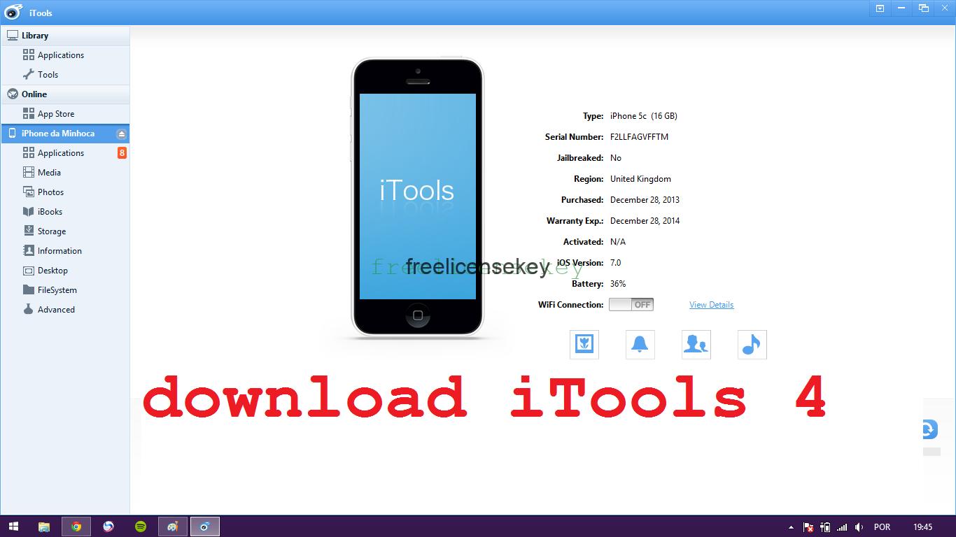 iTools 4.4.5.7 Crack Serial + License Key Full Download {Mac + Win} 2020