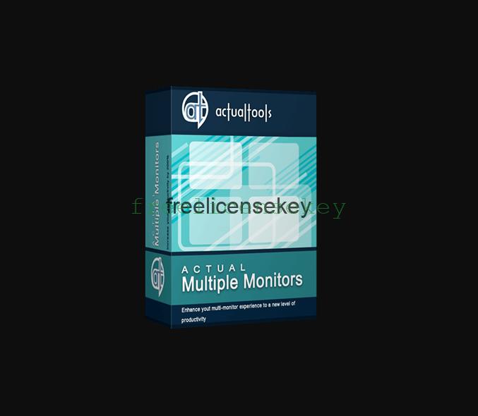 Actual Multiple Monitors 8.14.3 Crack License Key Download [Torrent]