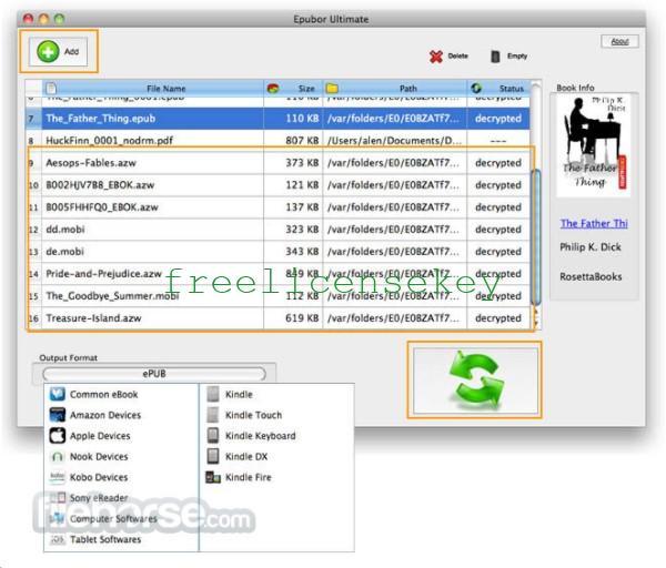 Epubor Ultimate 3.0.13 Crack Converter + Registration Code