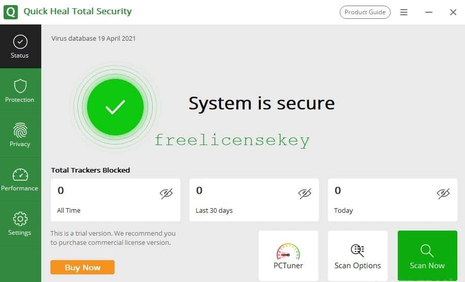 Quick Heal Total Security Crack Lifetime Activator + Product Key